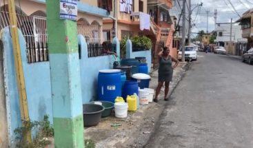 Este lunes inicia el racionamiento del agua en sectores del GSD tras sequía