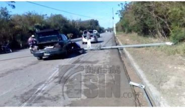 Hieren y atracan a hombre en Boca Chica tras explotarse neumático de vehículo