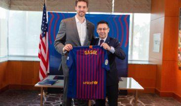 Pau Gasol vuelve al Barcelona como embajador global en Estados Unidos