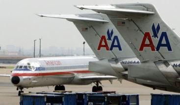La compañía estadounidense American Airlines suspende sus vuelos a Venezuela