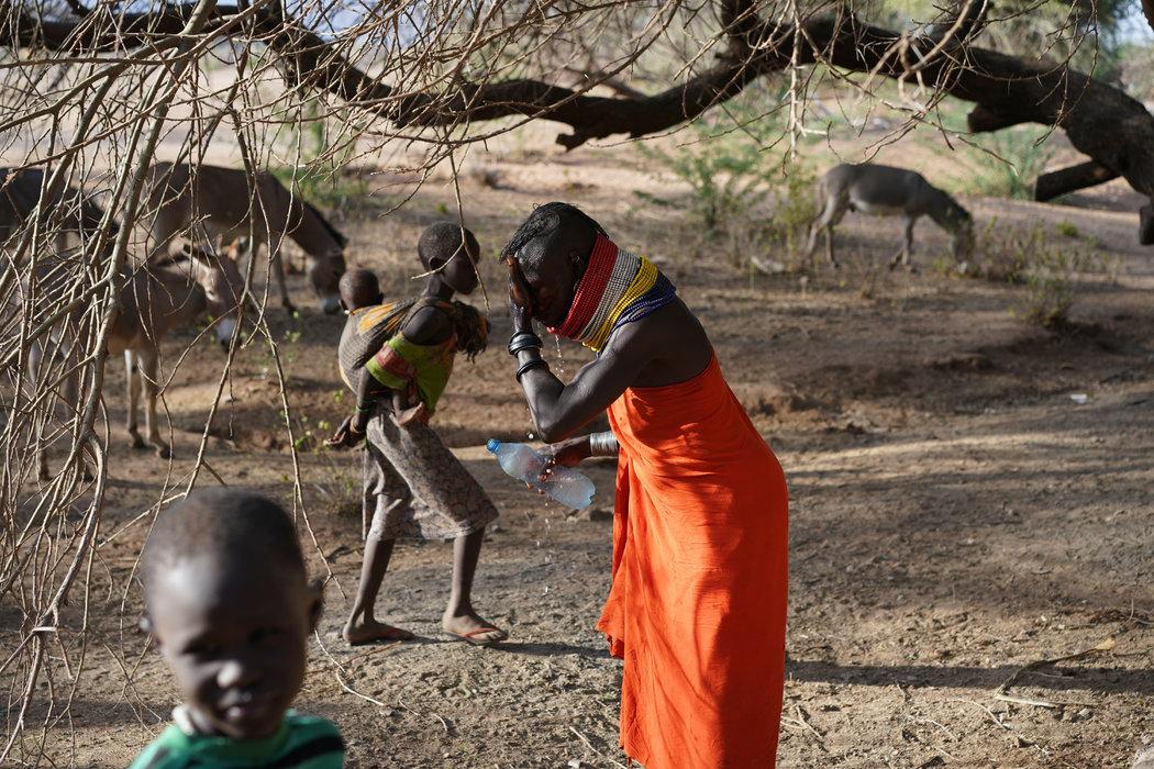 Más de un millón de personas en Kenia en riesgo de hambruna por la sequía
