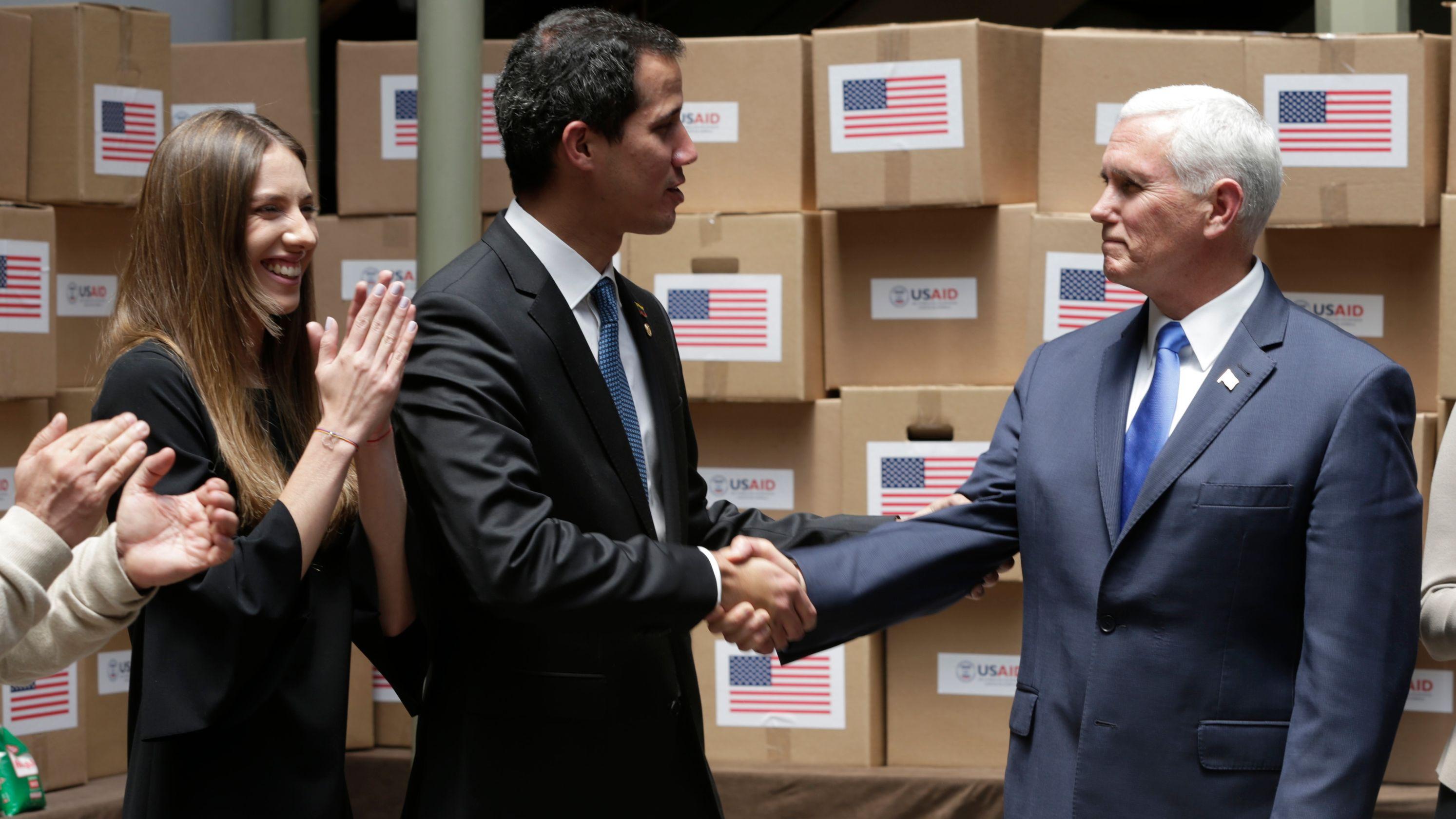 Mike Pence y Melania Trump se reunirán esta semana con la esposa de Guaidó