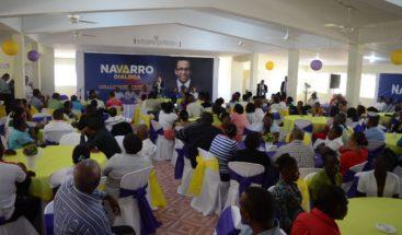 Navarro plantea que iglesias sean socias estratégicas del estado para afrontar problemas nacionales