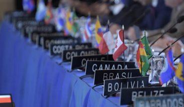 OEA apoya diálogo en Nicaragua, pero ve que situación es todavía