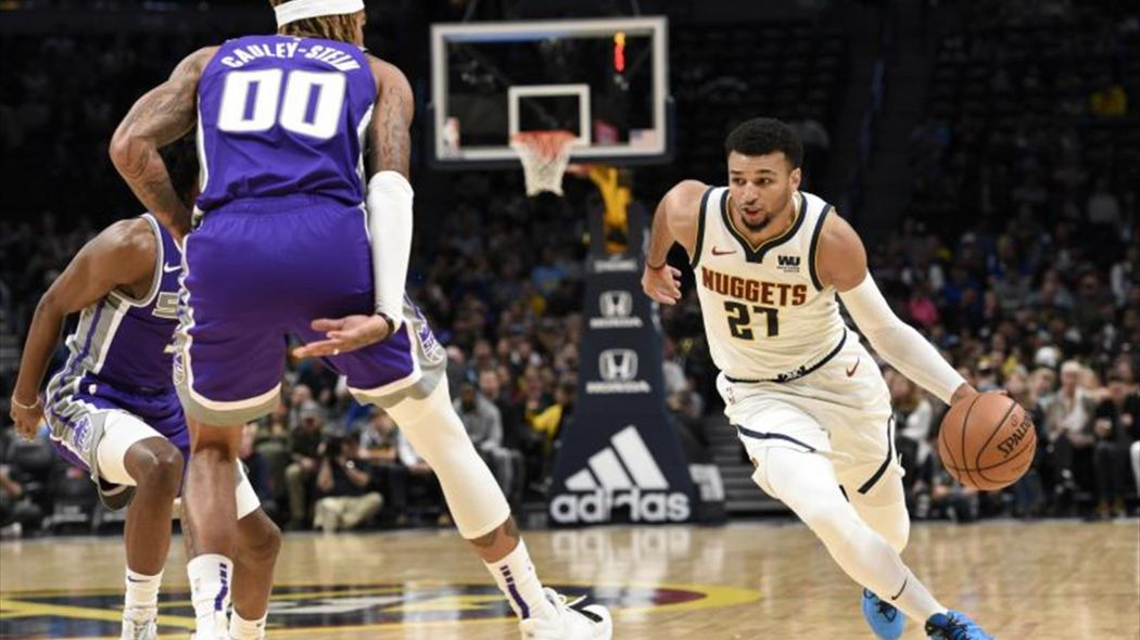 Murray encabeza ataque balanceado de Nuggets y logran primer triunfo