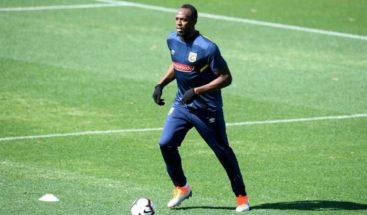 Usain Bolt se une al entrenamiento del Palmeiras en Brasil