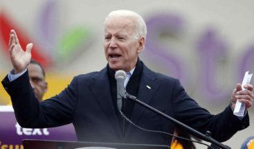 Biden logra 6,3 millones en su primer día de campaña, récord entre demócratas