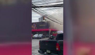 Se registra conato de incendio en el restaurante Olivia