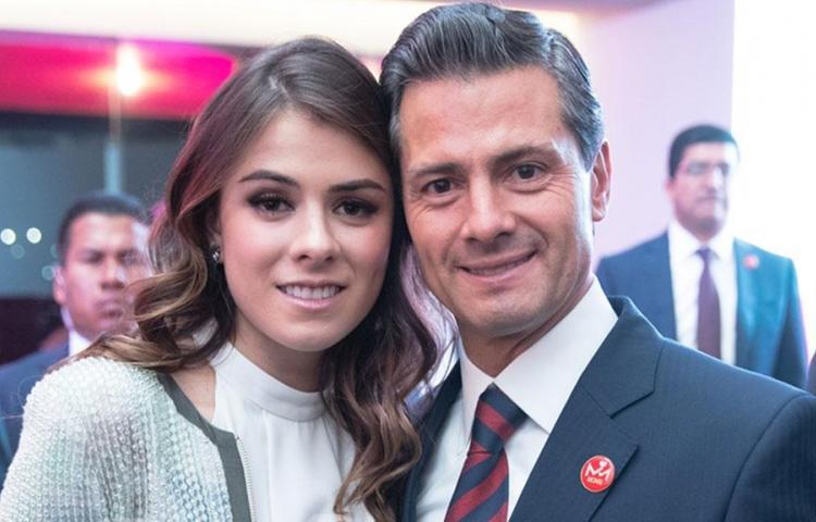 Hija de Peña Nieto dice que su padre está