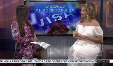 Migración sin fronteras: Errores al solicitar visa