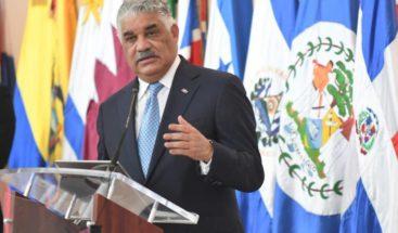 Canciller dominicano defiende necesidad de negociación práctica en Venezuela