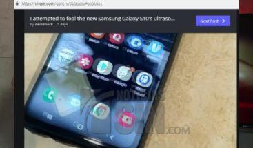 Experto logra burlar la seguridad del teléfono inteligente Samsung Galaxy S10
