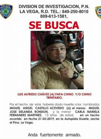 PN identifica uno de los implicados en triple asesinato en La Vega