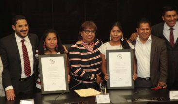 Senado mexicano entrega reconocimiento a Yalitza Aparicio por la cinta