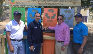 Lanzan proyecto de prevención y manejo de residuos sólidos de playa Boca Chica