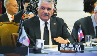 Canciller Miguel Vargas asistirá a reunión en Comando Sur EE. UU.