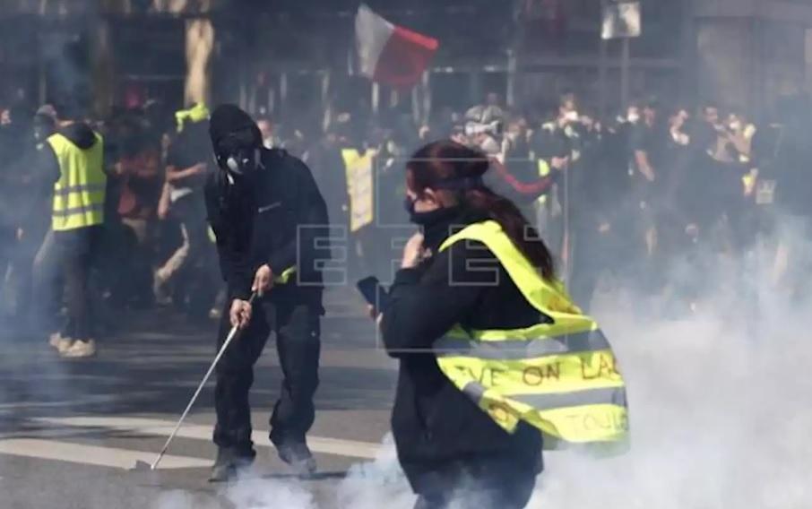 Francia desplegará 60 mil agentes en la manifestación de