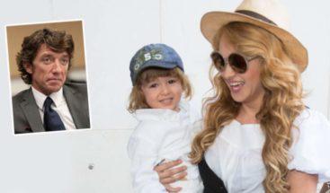 Paulina Rubio demanda a Colate por ocultarle el paradero de su hijo