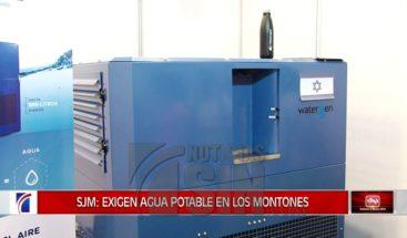 Máquina produce 900 litros diarios de agua a través del aire