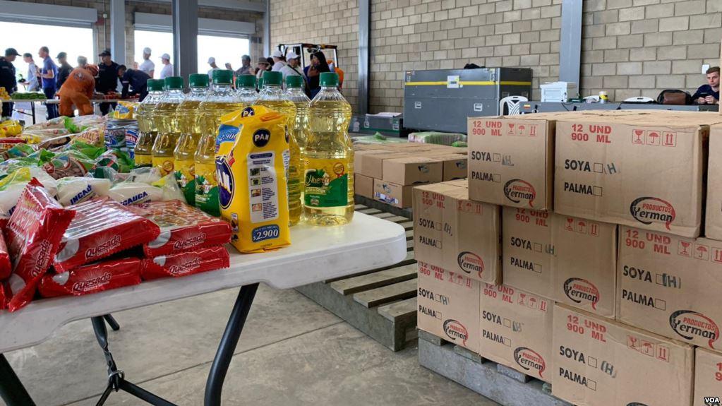 Llega a Venezuela el primer cargamento de ayuda humanitaria, según diputados