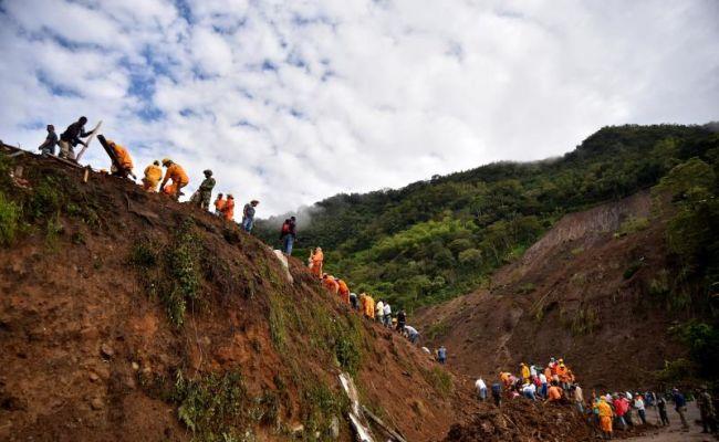 Autoridades colombianas reanudan la búsqueda de desaparecidos por derrumbe
