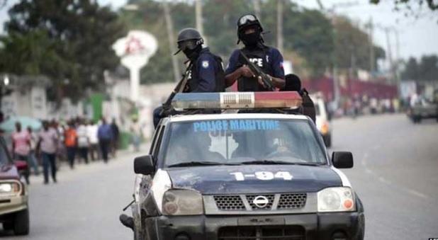 La Policía haitiana dispersa a manifestantes cerca del Palacio Nacional