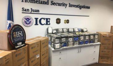 Autoridades decomisan 1.480 kilos de cocaína en el sureste de Puerto Rico