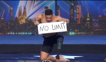 Dominicano que perdió una pierna logra 6to lugar en 'Spain's Got Talent'