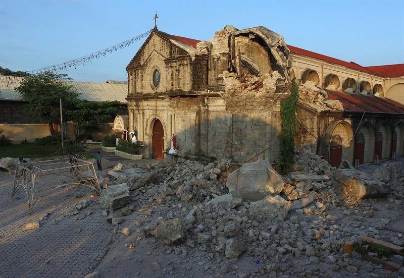 Otro terremoto de magnitud 6,3 sacude la región central de Filipinas