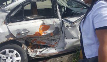 Accidente de tránsito en elkm 59 autopista Duarte deja un muerto y otro herido