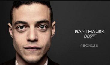Rami Malek será el villano de la nueva cinta de James Bond, con Daniel Craig