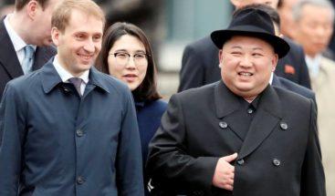 Kim llega a Pionyang tras su