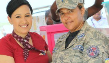 FARD celebra Día de las Madres con gran fiesta en la Base Aérea San Isidro