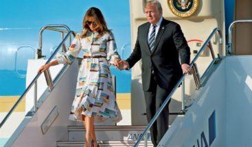 Trump llega a Japón para conocer al emperador y revisar agenda global con Abe