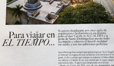 Revista Vogue Latinoaméricana se hace eco del remozado malecón de Santo Domingo en su última edición