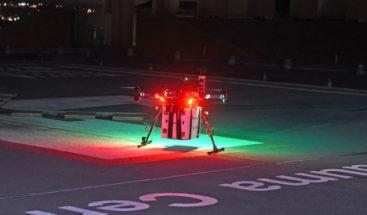 Un dron transporta por primera vez un riñón para ser trasplantado