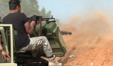 Mueren al menos siete milicianos de las fuerzas de Trípoli en combates del sur