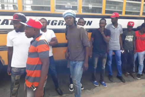 Detienen diez nacionales haitianos indocumentados en Dajabón