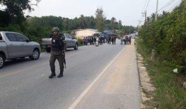 Al menos tres muertos y cinco heridos por ataques de la insurgencia en el sur de Tailandia