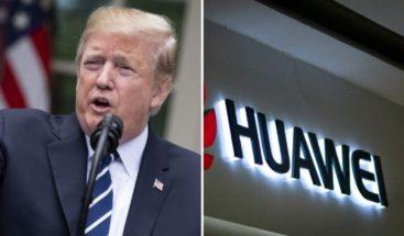 Trump dice que el caso Huawei podría integrarse en la negociación con China