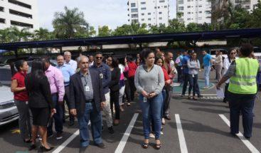 ¿Cómo reaccionaron los dominicanos ante el simulacro del terremoto de magnitud 7.4?
