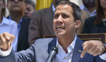 """EEUU: Detener a Guaidó en Venezuela """"sería el último error de la dictadura"""""""