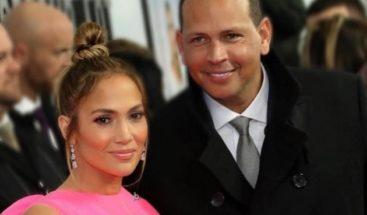 Alex Rodriguez también ensaya para la próxima gira de Jennifer Lopez