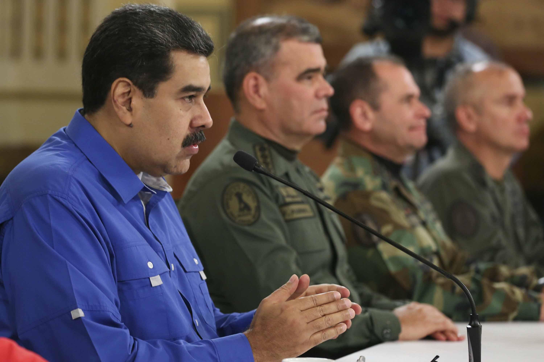 Maduro dice director del Sebin lideró levantamiento al ser