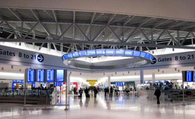 El aeropuerto JFK de Nueva York