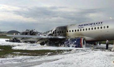 Informe ruso apunta a error de pilotos en el accidente aéreo con 41 muertos