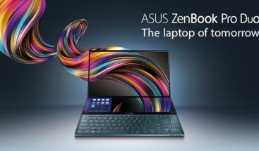 Así será el nuevo portátil de ASUS: dos pantallas independientes y ambas con resolución 4K