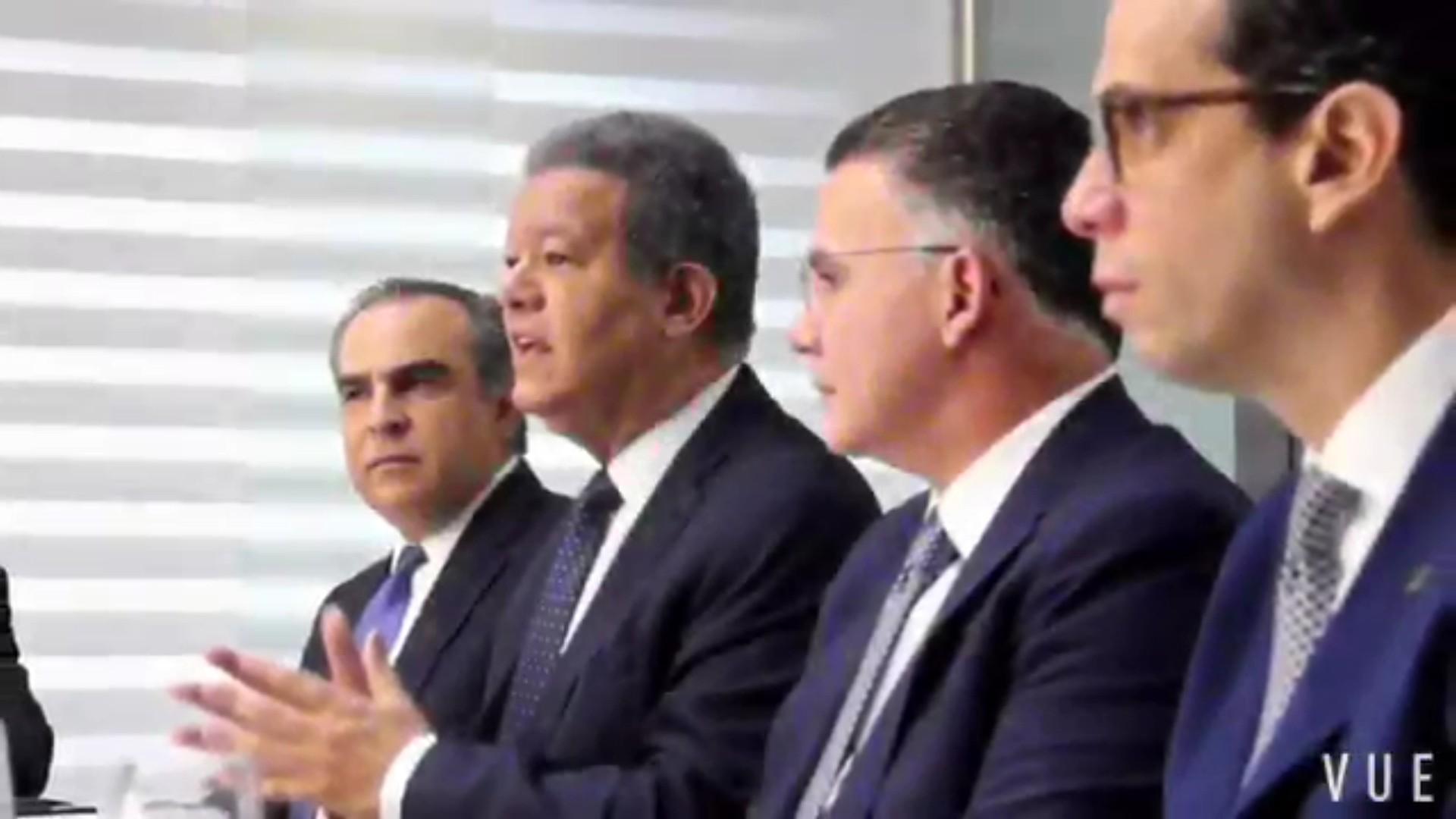 Leonel Fernández se reúne por segunda vez con cúpula del Conep