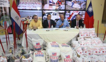 Taiwán dona 300 toneladas de arroz a Paraguay para afectados por inundaciones