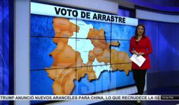 JCE elimina arrastre de senadores en 26 provincias; en el DN y otras cinco demarcaciones la mantiene